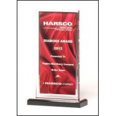 Acrylic-red-satin-award